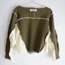 [GRIS] Rib Pullover / Moss (XS,S)