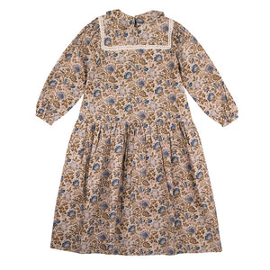 [the new society] LUISA DRESS - VINTAGE FLOWER