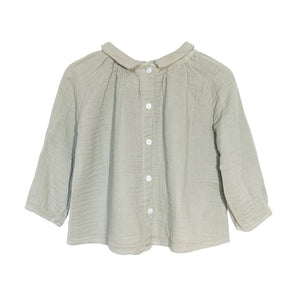[yellowpelota] Pansy Blouse - Soft Khaki