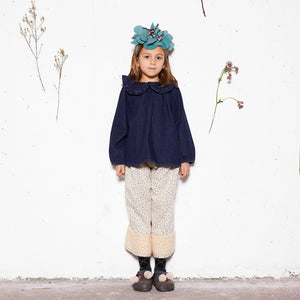 【yellowpelota】【2020AW】Iris Blouse - Denim