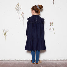 [yellowpelota] Iris Dress - Denim