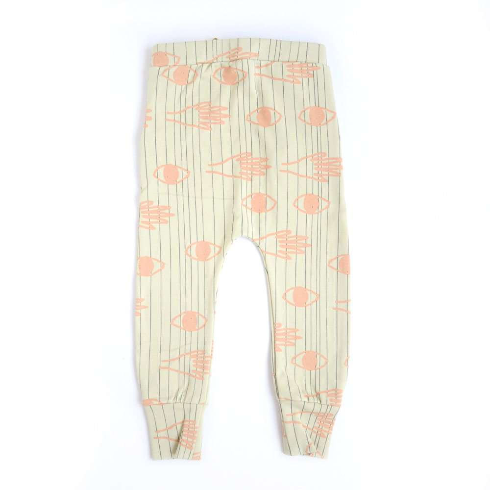 [arkakama] SPD LEGGINGS - E.LOOKING.T N.STONE x BLACK (PEACH)