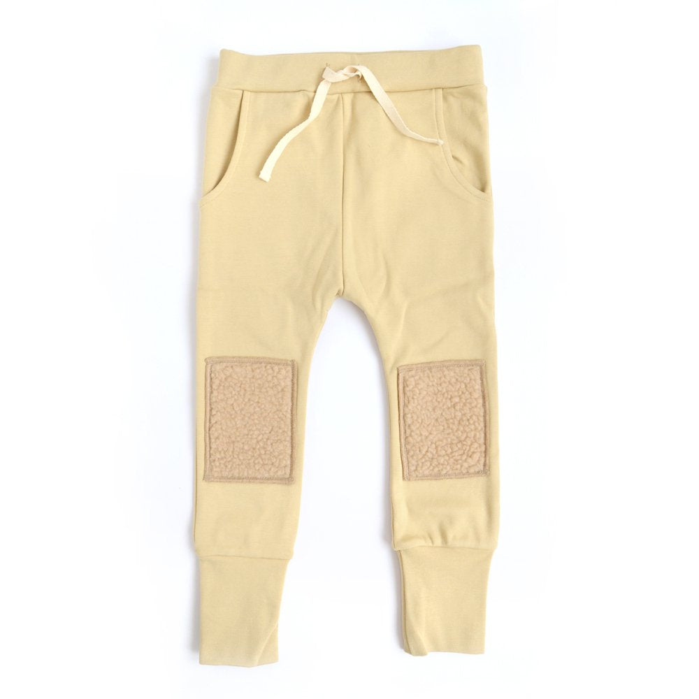 [arkakama] SPD SAROUEL LEGGINGS - CUSTARD MOCO
