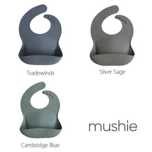 MUSHIE - Silicone Bib - Cool Color