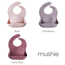 MUSHIE - Silicone Bib - Berry Color
