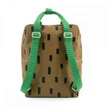【sticky lemon】large backpack sprinkles | special edition | brassy green + apple green