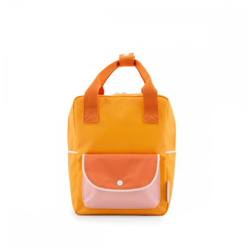 【sticky lemon】small backpack wanderer | sunny yellow + carrot orange + candy pink