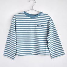【the new society】【2021 SS】 SAILOR TEE - DEEP BLUE