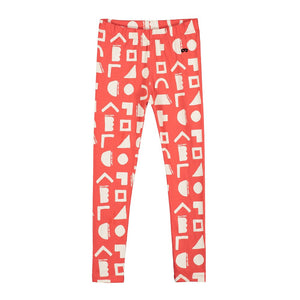 [BEAU LOVES][21SS] Red Positive Thoughts Leggings