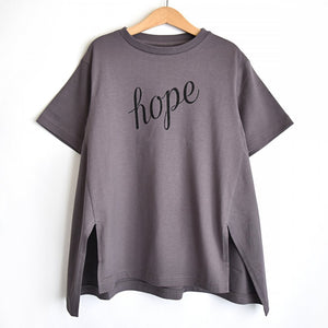 [GRIS] Back Flare T-shirts - Purple