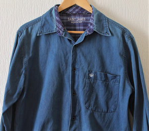 Chemise en jean Saint James