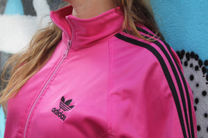 Sweat zippé Adidas rose