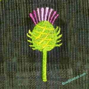 Thistle 4x4 Embroidery