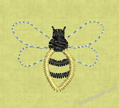 Bee-Free-Machine-Embroidery-File