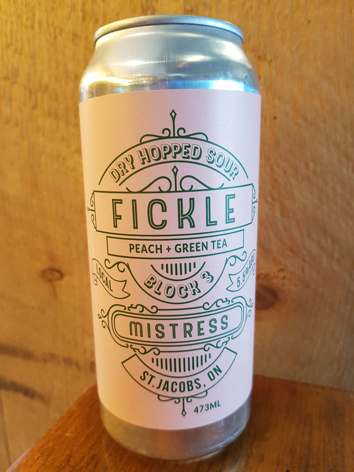 Fickle Mistress Peach + Green Tea