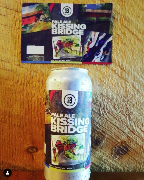 Kissing Bridge Pale Ale
