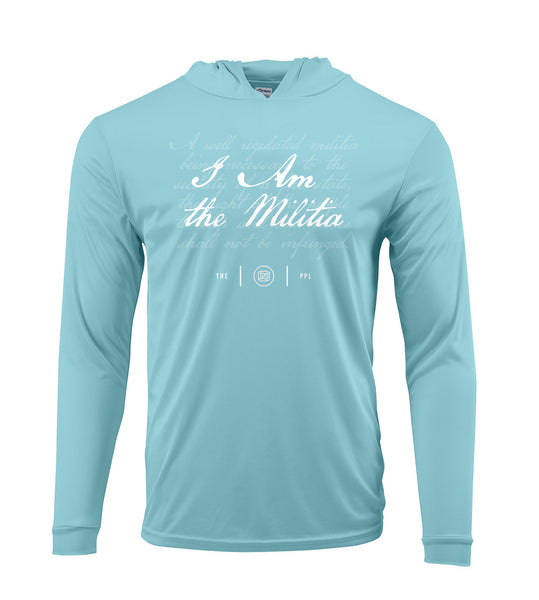 I Am the Militia Performance Hoodie