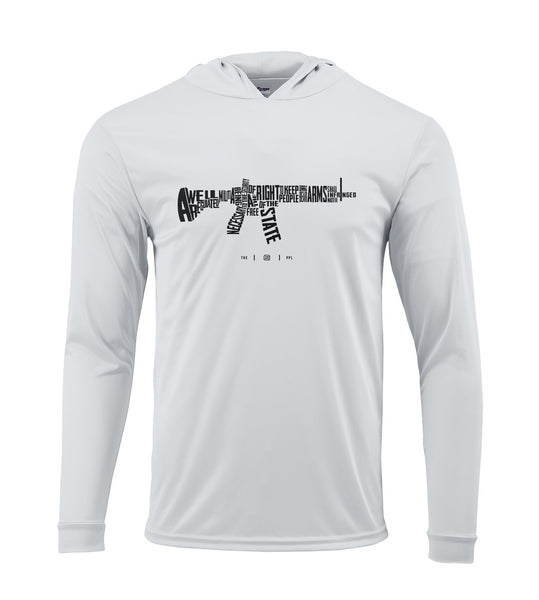 AR-15s are protected by the Second Amendment Performance Hoodie