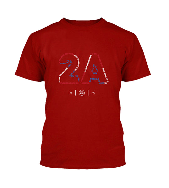 Pro 2A Red White & Blue Shirt