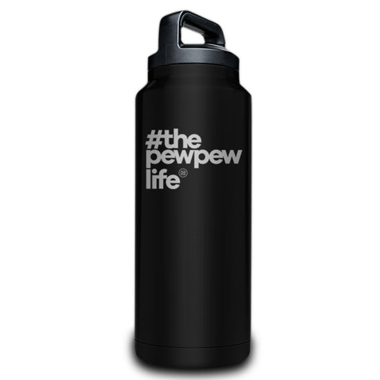 #ThePewPewLife Coated Bottles