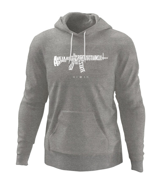 AR-15s are Protected by the 2nd Amendment Hoodie