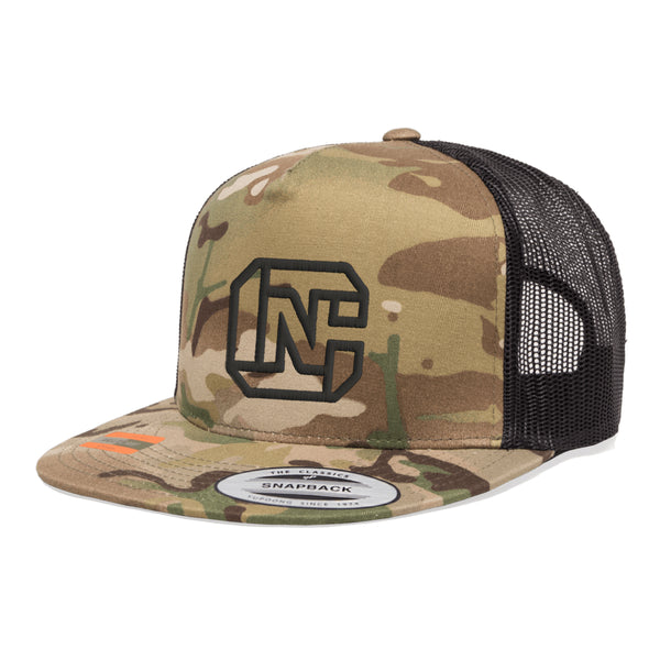 CN Logo Tactical MultiCam Trucker Hat Snapback