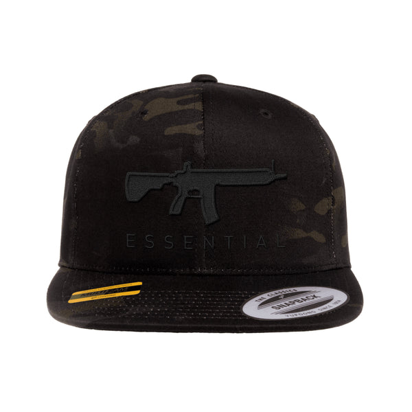 AR-15s Are Essential SnapBack Tactical Black MultiCam