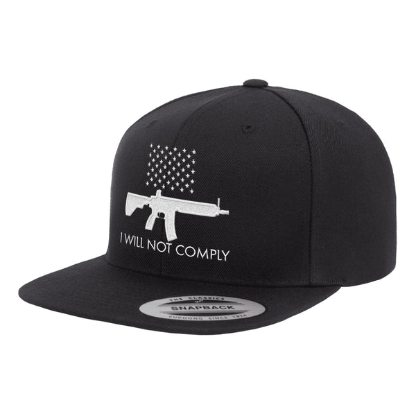 I Will NOT Comply Hat Snapback