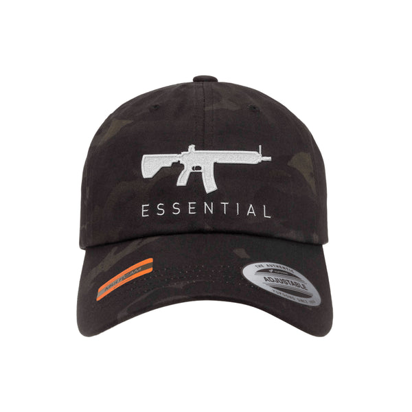 AR-15s Are Essential Dad Hat Tactical Black MultiCam