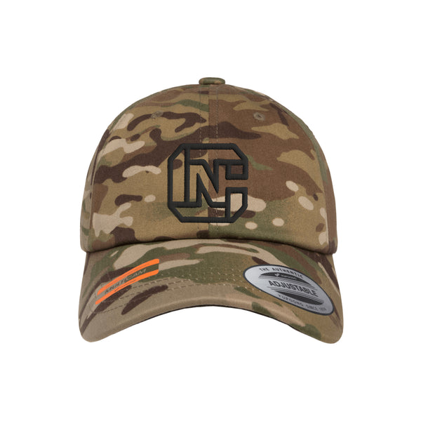 CN Logo Tactical MultiCam Adjustable FlexFit Hat