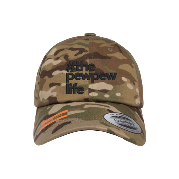 #ThePewPewLife Dad Hat Tactical MultiCam