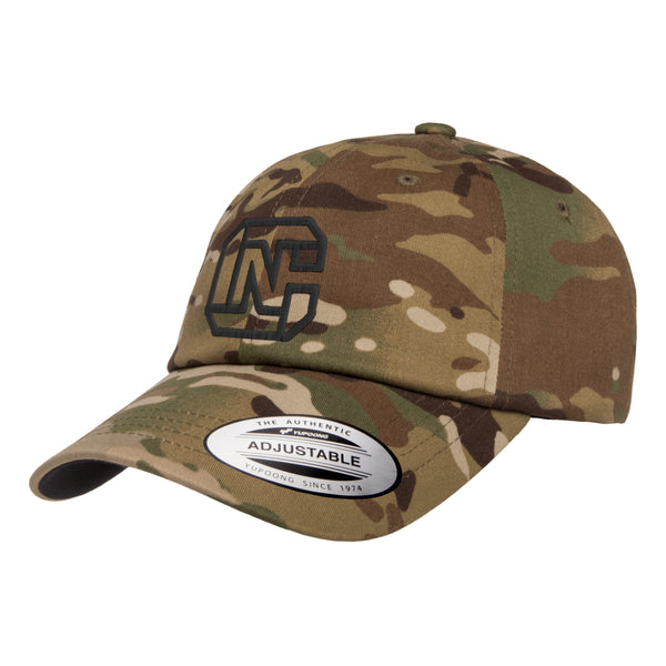 CN Logo Dad Hat Tactical Arid