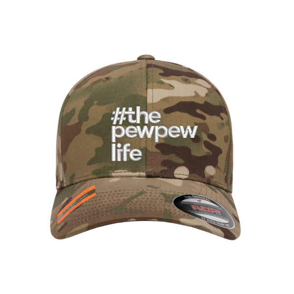 #ThePewPewLife Tactical MultiCam Hat FlexFit