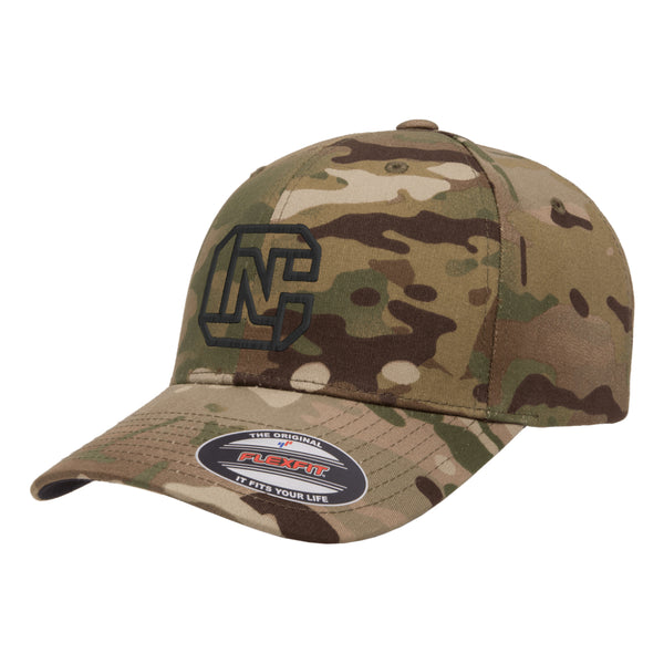 CN Logo Tactical MultiCam Hat FlexFit