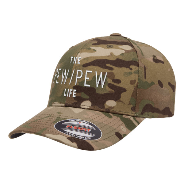 The Pew/Pew Life Tactical Arid Hat FlexFit