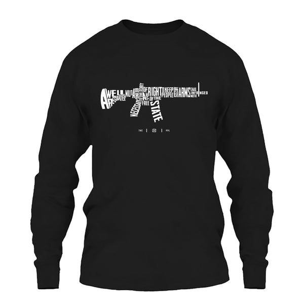 AR-15's are protected by the Second Amendment Long Sleeve