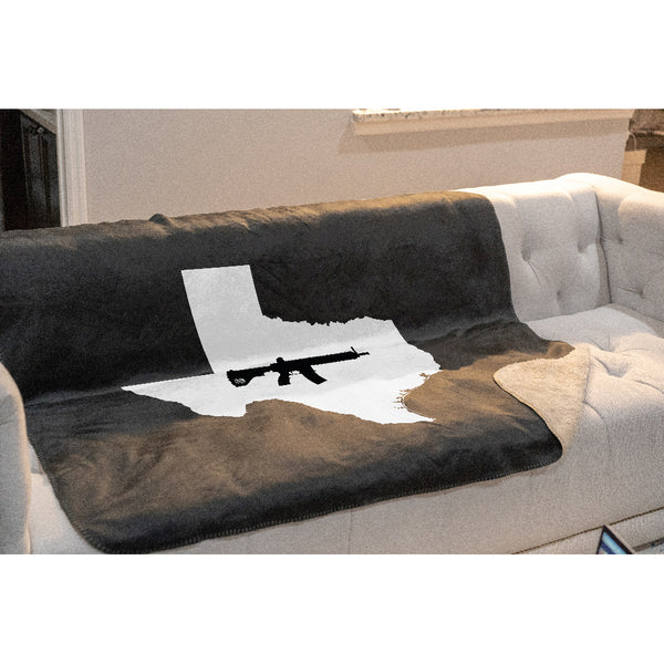 Keep Texas Tactical Sherpa Throw Blanket