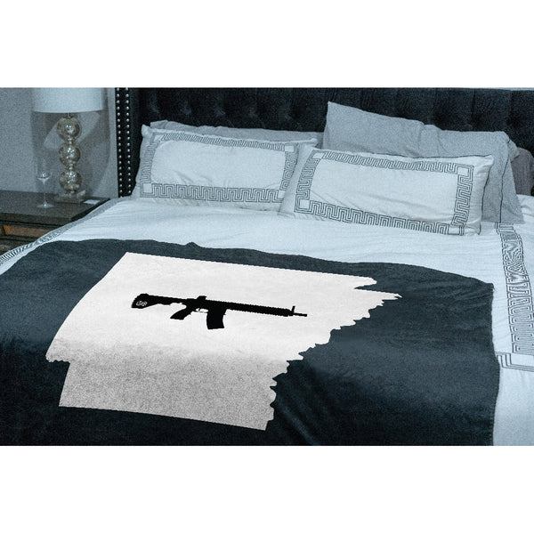 Keep Arkansas Tactical Sherpa Throw Blanket