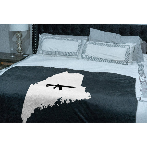 Keep Maine Tactical Sherpa Throw Blanket