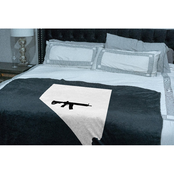 Keep Nevada Tactical Sherpa Throw Blanket