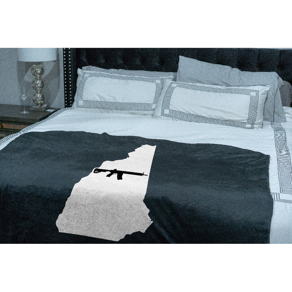 Keep New Hampshire Tactical Sherpa Throw Blanket