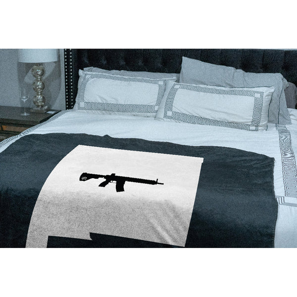Keep New Mexico Tactical Sherpa Throw Blanket