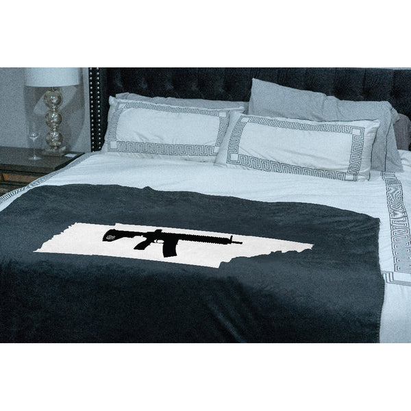 Keep Tennessee Tactical Sherpa Throw Blanket