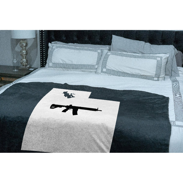 Keep Utah Tactical Sherpa Throw Blanket
