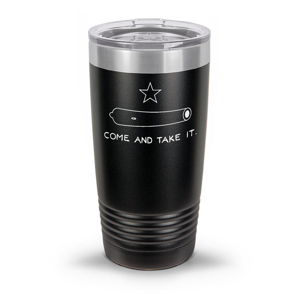 Come and Take It Laser Etched 30oz/20oz Tumbler