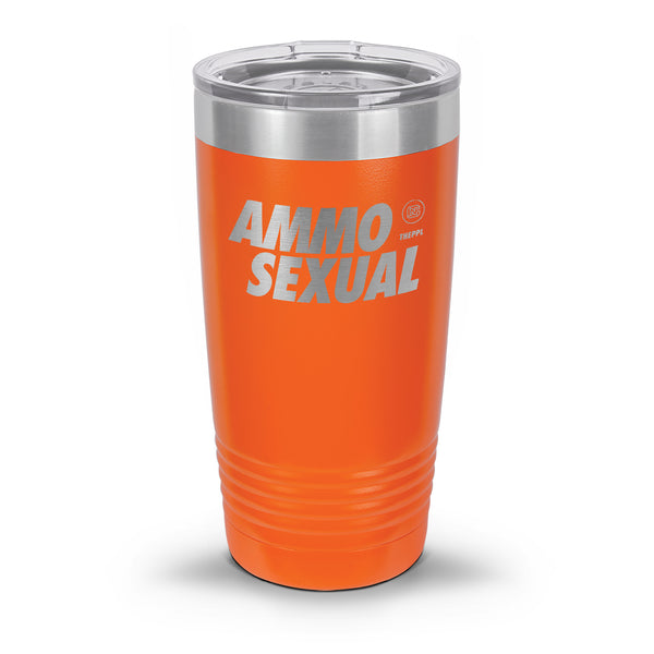 Ammo Sexual Coated Laser Etched Tumbler