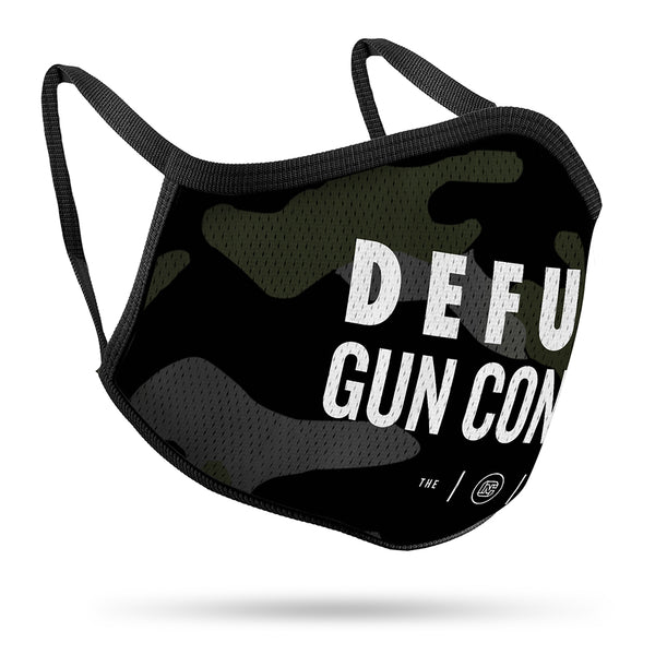 Defund Gun Control Performance Face Mask