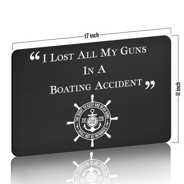 I Lost ALL My Guns in a Boating Accident Gun Cleaning Mat