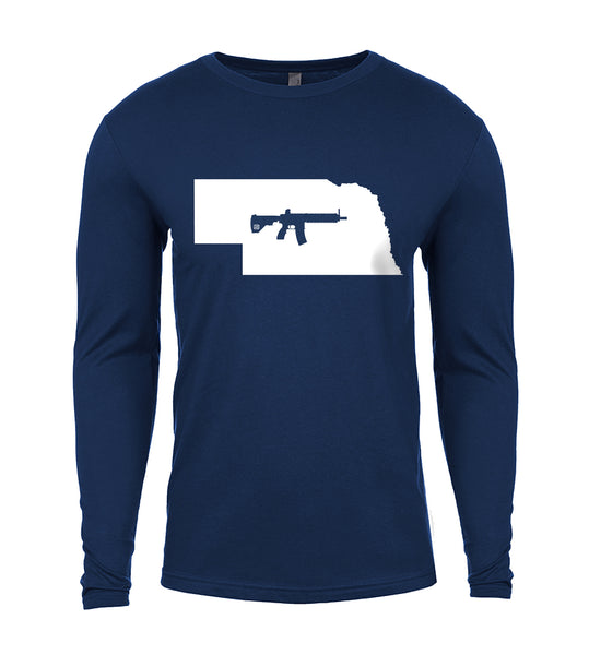 Keep Nebraska Tactical Long Sleeve