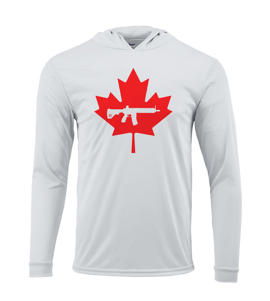 Keep Canada Tactical Maple Leaf Performance Hoodie